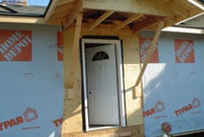 Picture of House Being Built
